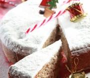 Βασιλόπιτα κέικ με ξηρούς καρπούς