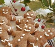 Μπισκοτάκια Χριστουγεννιάτικα με τζίντζερ
