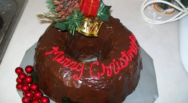 Κέικ σοκολάτας με σοκολατένιο γλάσο