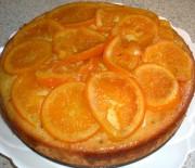 Πορτοκαλόπιτα με σοκολάτα σιροπιασμένη