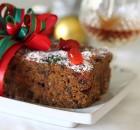 Κέικ Χριστουγεννιάτικο με αποξηραμένα φρούτα & ξηρούς καρπούς