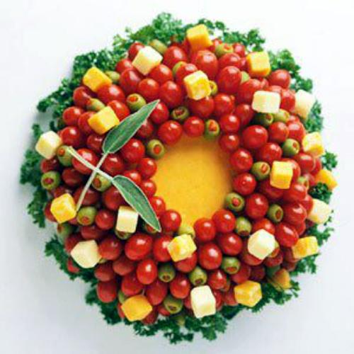 guirlanda de tomatinho cereja