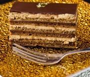 Τούρτα με μπισκότα, κρέμα κάσταρντ και γκανάς σοκολάτας