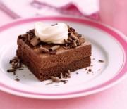 Κέϊκ με μους σοκολάτας