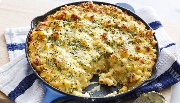 Σουφλέ με κοφτό μακαρονάκι και τυρί