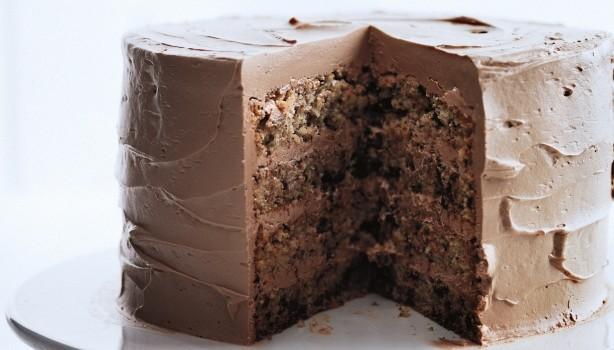 Σοκολατένιο κέικ με γέμιση και κάλυψη σοκολάτας