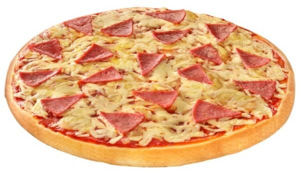 Πανεύκολη σπιτική πίτσα με ζαμπόν & μανιτάρια