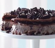 Κέϊκ τούρτα με παγωτό και όρεο