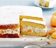 Κέϊκ με κρέμα τυριού, μανταρινιού