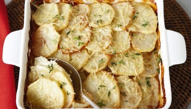 Κρεμώδεις πατάτες φούρνου