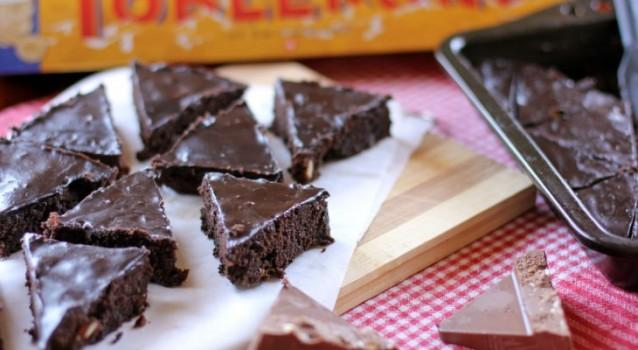 Σοκολατένιο κέικ Toblerone
