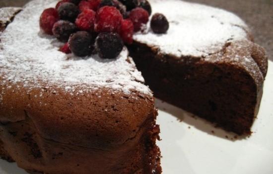 Σοκολατένιο κέϊκ με άρωμα Espresso