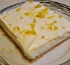 Λεμονογλυκό με μπισκότα και γιαούρτι με 5 υλικά σε 10 λ