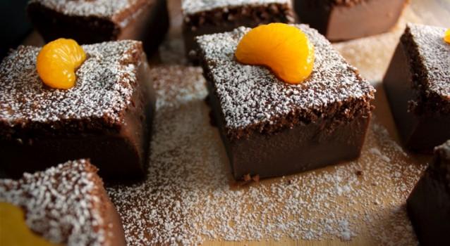 Κέϊκ σοκολάτας με πορτοκάλι
