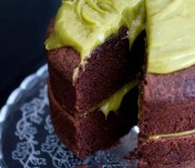 Σοκολατένιο κέικ με αβοκάντο νηστίσιμο