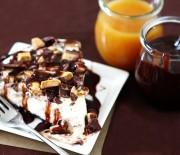 Τουρτίτσα παγωτού με μπισκότα oreo & σοκολάτα Lacta
