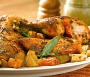 Κοτόπουλο μυρωδάτο ψητό στο φούρνο