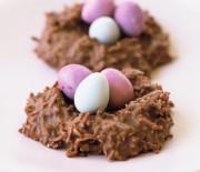 """Πασχαλινές σοκολατένιες """"φωλιές"""""""