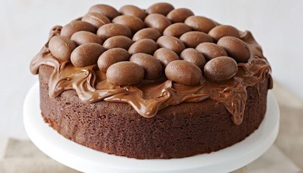 Σοκολατένιο Πασχαλινό κέικ