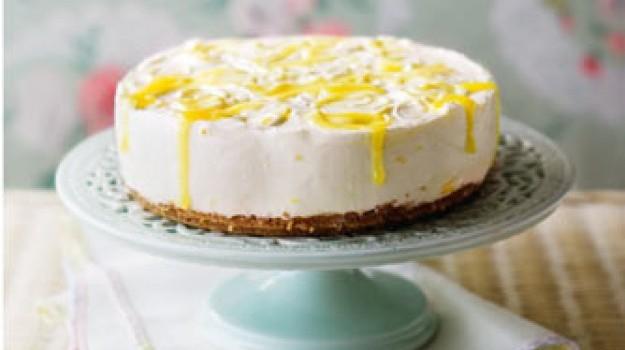 Δροσερό Cheesecake λεμόνι