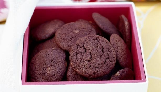 Extra σοκολατένια μπισκότα