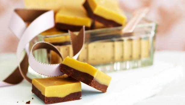 Δροσερό γλύκισμα σοκολάτας & καραμέλας
