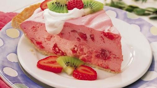 Ανάλαφρη τάρτα φράουλας