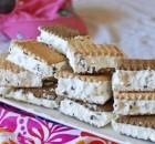 Πανεύκολα παγωτά σάντουϊτς με 3 υλικά