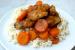 Μπουτάκια κοτόπουλου με μέλι, λεμόνι και καρότα