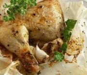 Κοτόπουλο στη λαδόκολλα
