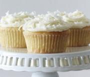Υπέροχα cupcakes λεμονιού με ινδοκάρυδο