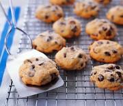 Μαλακά cookies με σταγόνες σοκολάτας