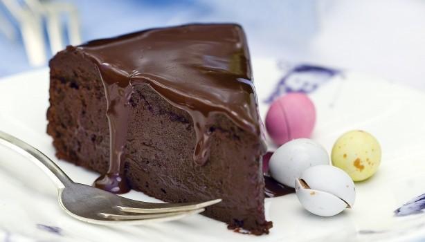 Τούρτα γκανάζ σοκολάτας