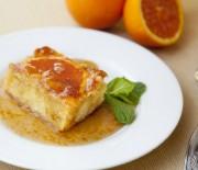 Πανεύκολη πορτοκαλόπιτα με σιρόπι πορτοκαλιού