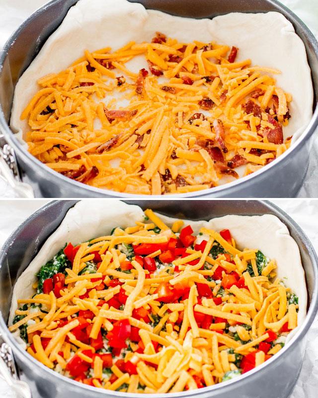 spinach-ricotta-brunch-bake-collage2