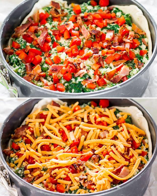 spinach-ricotta-brunch-bake-collage3