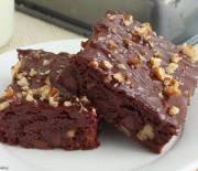 Υπέροχο Μπράουνις με σταγόνες σοκολάτας