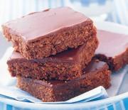 Σοκολατένιο γλύκισμα με ινδοκάρυδο