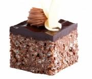 Τραγανό σοκολατένιο γλύκισμα ψυγείου