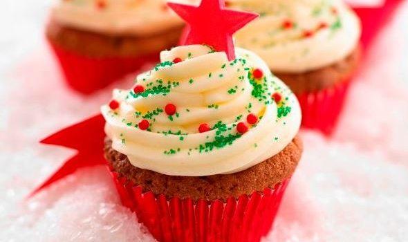 Cupcakes Χριστουγεννιάτικα