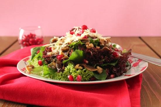 Mushroom-pomegranate-salad-2-