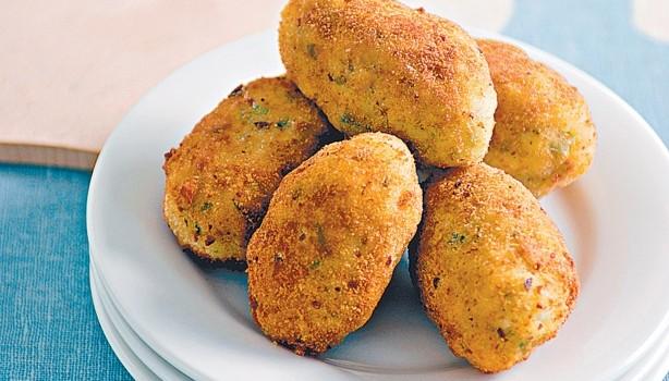 Κροκέτες πατάτας με μυρωδικά