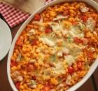 Κοφτό μακαρoνάκι με κοτόπουλο και μοτσαρέλα