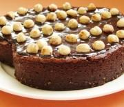 Κέικ Nutella's φουντουκιού χωρίς αλεύρι