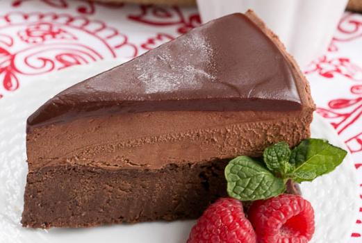 Παγωτό μους σοκολάτας