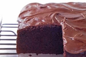 Υπέροχο σοκολατένιο κέικ