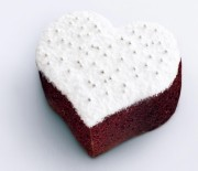 Mini σοκολατένια κεκάκια καρδιά