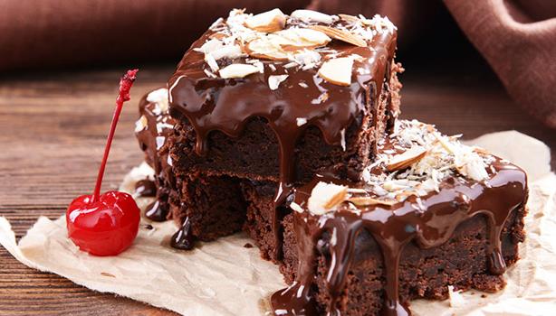 Σοκολατένιο κέικ με τζίντζερ