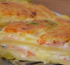Υπέροχη πατατόπιτα χωρίς φύλλο