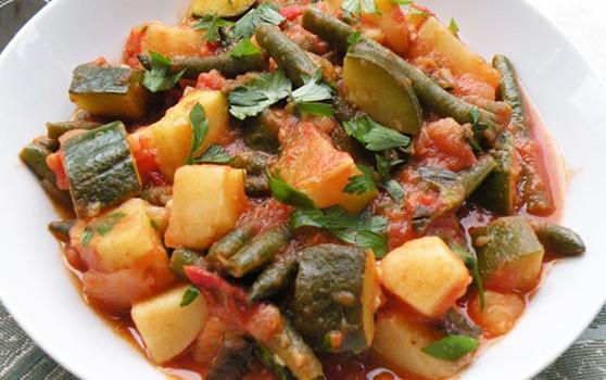 Τουρλού λαχανικών στο φούρνο, νηστίσιμο